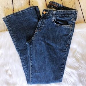 Eddie Bauer jeans bootcut 6 regular like new